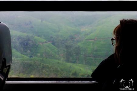 Salah satu hal yang harus dilakukan di Sri Lanka: menaiki kereta yang melintasi Nanu Oya (Nuwara Eliya) atau Ella. Great view!