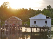 Suasana sore di kampung Bajo, Lagasa, Muna.